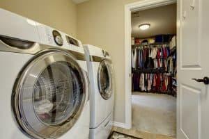 Second Floor Laundry Rooms